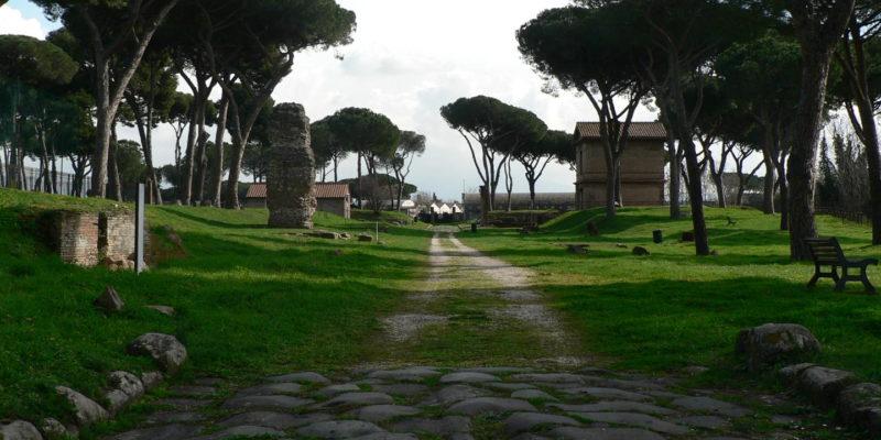 Tratto della Via Latina.
