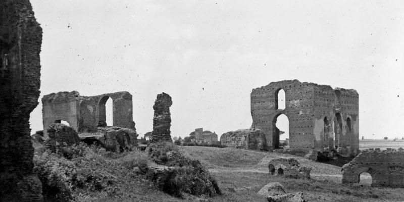 La Villa dei Quintili prima dei recenti scavi archeologici
