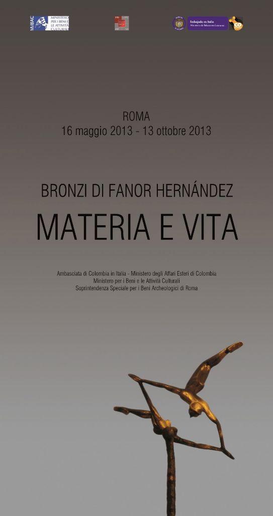 Locandina evento I bronzi di Fanor Hernández