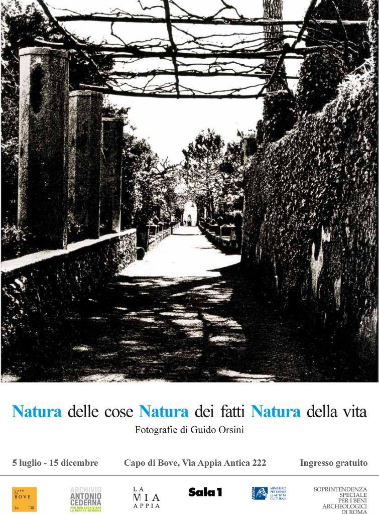 """Locandina evento """"Natura delle cose Natura dei fatti Natura della vita"""""""