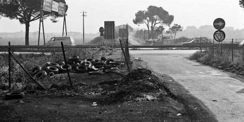 L'incrocio della Via Appia Antica con il Grande Raccordo Anulare