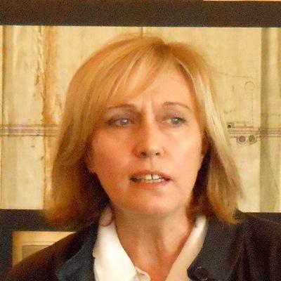 Primo piano del direttore del Parco Archeologico dell'Appia Antica, dott.ssa Rita Paris