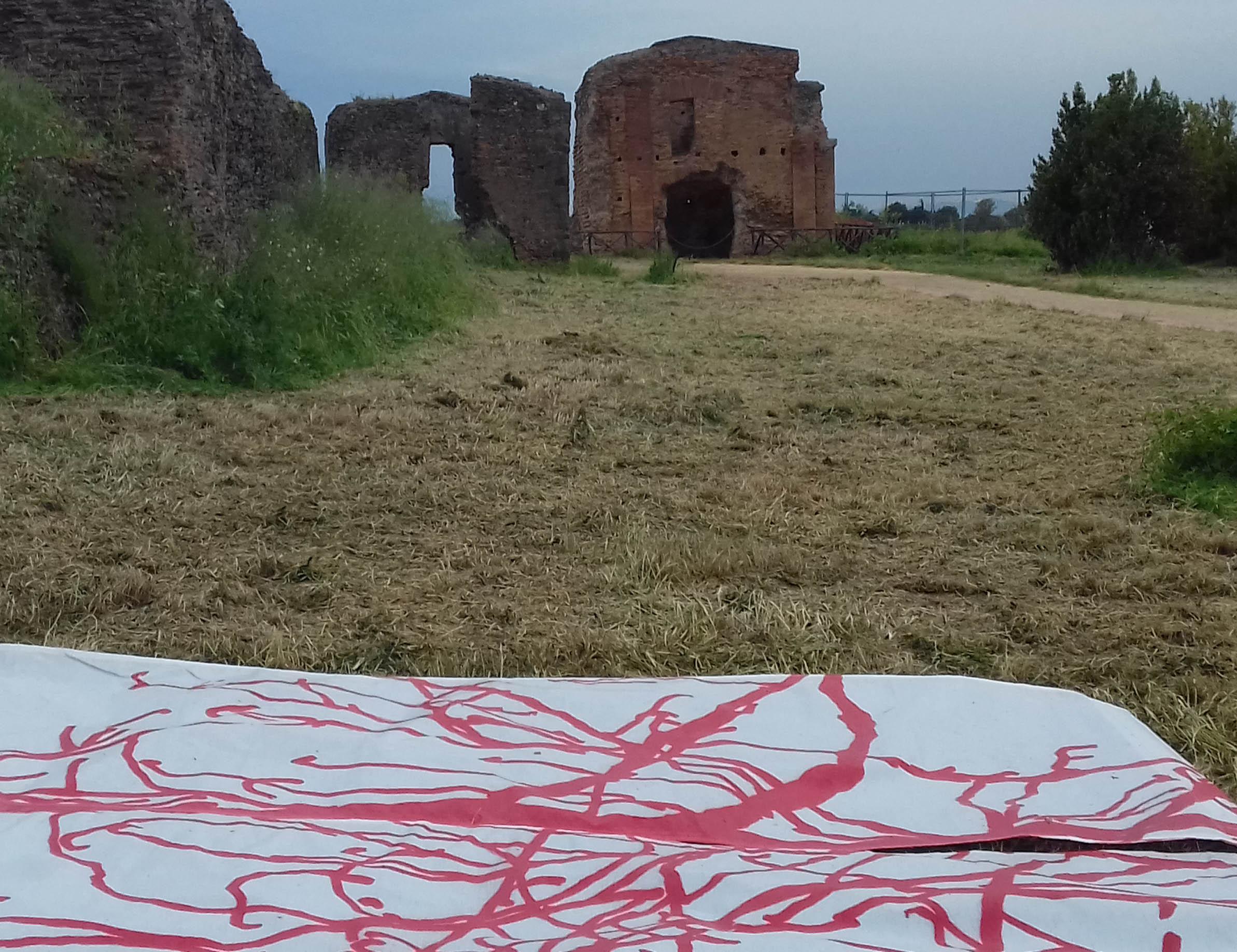 La mostra Ailanto<3 nella Villa dei Quintili è prorogata sino al 29 settembre