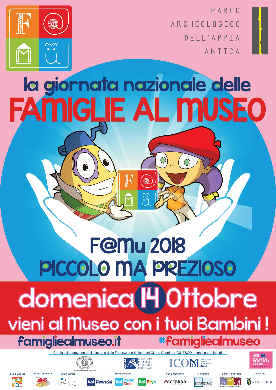 La giornata nazionale delle famiglie al Museo Famu 2018
