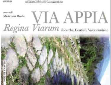 Giovedì 23 gennaio ore 15.30 – presentazione volumi sull'Appia Antica